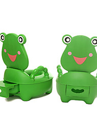 Childrens Training Potty Chair,Cute Plastic Green Frog