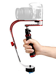 DEBO Video handheld stabilizer UF-007 for SLR Camera - Red+Black+Sliver