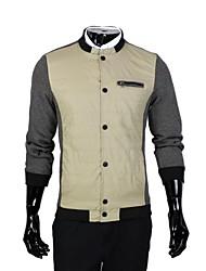 de los hombres de la moda otoño ocio chaqueta delgada