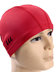 Youyou Unisex Large Size PU Waterproof Anti-Slip Hair Protection Ear Protectio Wearable Swimming Cap