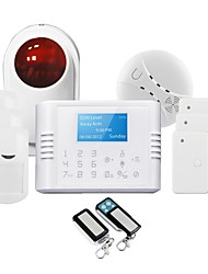 GSM Alarm System! 4 Languages in One Alarm System GS-G180E