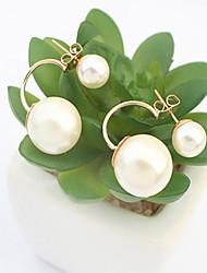 XinYuan Fashion Casual Elegant Pearl Earrings