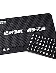 CarSetCity  Phone Number Non-Slip Mat