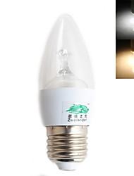 Zweihnder E26/E27 3 W 9 SMD 2835 150 LM Warm White/Cool White G Decorative Globe Bulbs AC 220-240 V