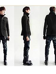 PROMOTION Men's British Fashion Style Jacket Pocket Ccoat Collar Brochure