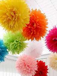 Wedding Décor 18 inch(45cm) Paper Pom Tissue Flower - Set of 4 (More Colors)