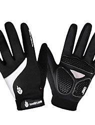 WOLFBIKE New Winter Road Mountain Bike Windproof Antiskid Full Finger Gloves Cycling Gloves