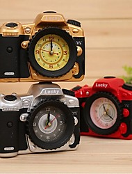 Fashion Home Office Decor Camera Model Alarm Clock Creative Gifts Random Color