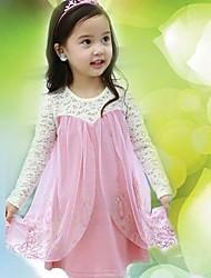 los niños de color rosa y azul vestido de princesa vestido de la muchacha ropa del bebé del verano