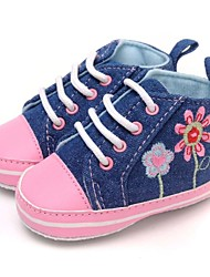 Girls' Shoes Comfort Flat Heel Fashion Sneakers with Lace-up Shoes