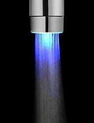 -Batería del color azul libre del grifo de luz LED de Cocina Baño