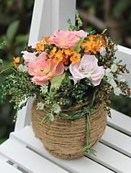décoration de mariage rose lumière artificielle décoration florale décoration de la maison