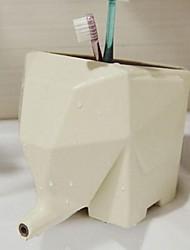 mooie olifant badkamer tandenborstel opbergrek