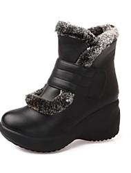 botas de los zapatos de nieve de las mujeres acuñan botas del tobillo del talón con cinta mágica más colores disponibles