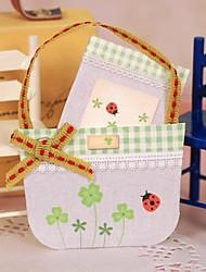 Ladybug Small Basket Mini Blessing Card(6*4.2cm)