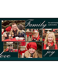 sentiments conception de la famille affiche personnalisée de taille moyenne