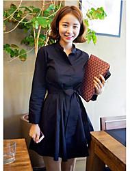 vestido tubo simplicidad vendimia de las mujeres con la correa