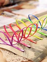 dulces horquillas de aleación de conejo forma de la oreja para las mujeres (rojo, rosa, verde, azul, amarillo, rosa) (1 unidad)