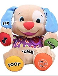 Music Dog Toys Baby Musical Plush Electronic Toys Dog Singing English Songs