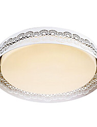 Warm White Light Flush Mount,8 Light Modern Metal