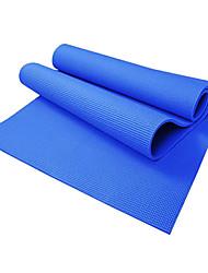 Yoga Mats ( Azul , pvc ) - 8.0