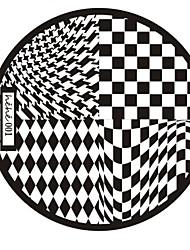 Nail Art Stempel Stamping Schablone Platte hehe Serie no.1