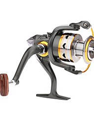 11BB Ball Bearings Left/Right Interchangeable Collapsible Handle Fishing Spinning Reel DK4000 5.2:1
