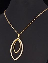 fancy grande charme dangle pingente banhado a ouro 18k jóias strass swa brilho para as mulheres de alta qualidade