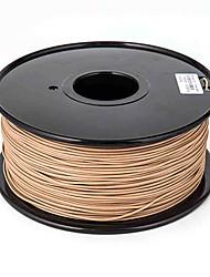 Sunlugw Wood 3D Printer Filament 3D Printing Consumables Material(1.75 3.0mm,±0.02mm,1KG)