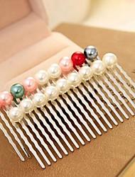 Popular Beautiful Handmade Pearl Bridal Hair Comb