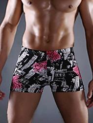 dos homens novo estilo casual shorts de alta qualidade calças impressas elásticos