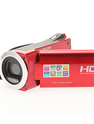 8 Megapixel Digital-Videokamera 720p HD-Video 4x digitaler Zoom 2,7-Zoll-LCD-Display Mini-Camcorder HDV-882