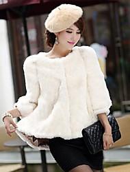 casacos de pele sete trimestre casaco manga faux fur moda feminina