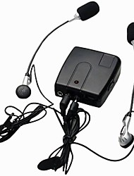 moto câblé wi10 interphone talkie-walkie interphone pour le conducteur pilote et le passager mp3 soutenir