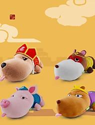 JUWANKE™A Chinese Odyssey Series Bamboo Charcoal Dog Plush Toys 1PCS