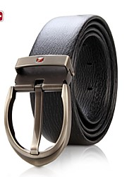 SWISSGEAR® Male Cowhide Belt pin Buckle Belt Business Luxury Belt