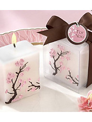 Valentine's day Peach Blossom Candle