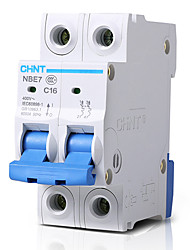 2P 16A CHNT 400V RCCB Residual Current Circuit Breaker Magnetic Blast Breaker Earth Leakage Protection