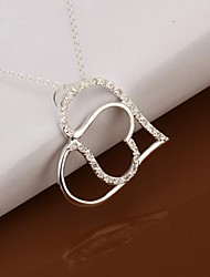 SSMN Women's Silver Plate Necklace