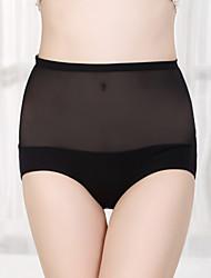 dnyh pantalones triángulo de cintura alta