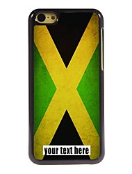 Personalized Case Flag of Jamaica Design Metal Case for iPhone 5C