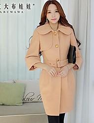 Pink Doll® Women's Fashion Elegant Ol Slim Woolen Coat