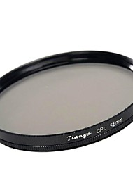TIANYA® 52mm CPL Circular Polarizer Filter for Nikon D5200 D3100 D5100 D3200 18-55mm Lens