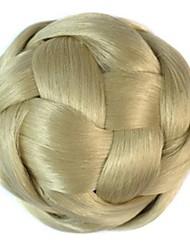 старинные катушка булочка шиньон парик (бежевый)