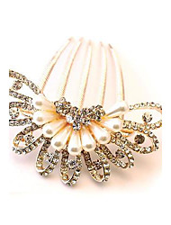 Beautiful Bride Popular Fashion Boutique Luxury Rhinestone Peacock Hair Comb