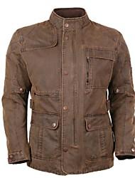 antigüedad chaqueta larga lavada motocicleta ocio de los hombres MOTOBOY con desmontable chaqueta interior cálido y protectores CE