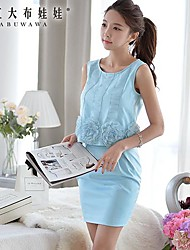 Women's Blue Shirt Sleeveless
