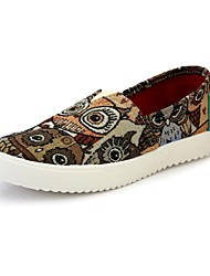 Women's Spring / Summer / Fall / Winter Creepers / Comfort / Round Toe Canvas Office & Career / Dress / Casual Platform Multi-color