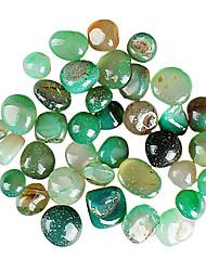 HUIJIA Green Agate Stone The bottom Stone of Fish Tank Aquarium 6.59/500g