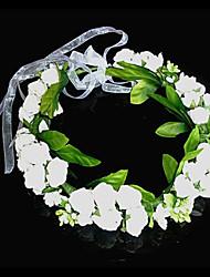 moda sposa ghirlanda di fiori